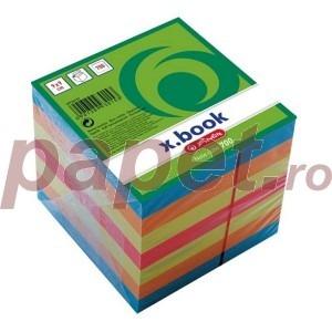 Cub din hartie Herlitz 9x9x9 700 file color 9930157