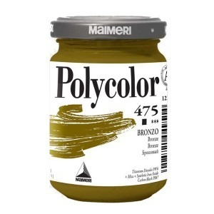 Culoare acrilica Maimeri polycolor 140 ml bronze 1220475
