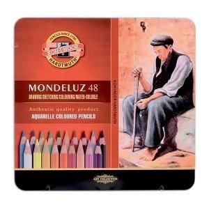 Creioane colorate Koh-I-Noor aquarel 24 culori / set K3724-24