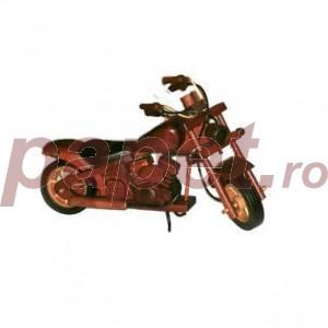 Motocicleta decorativa lin lemn M347