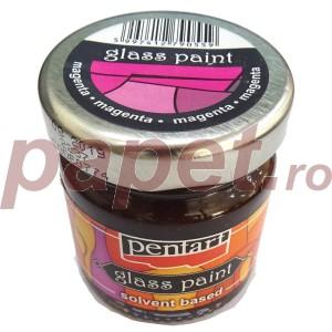 Culori sticla sau vitraliu 30ML Carmin/Magenta P0774