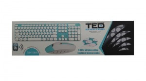 Tastatura + mouse wireless Ted Td88s (2.4 GHz) 20799