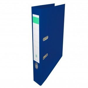 Biblioraft plastifiat Papet 5cm bleumarin E564021