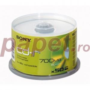CD-R Sony 48X 50/box E2437