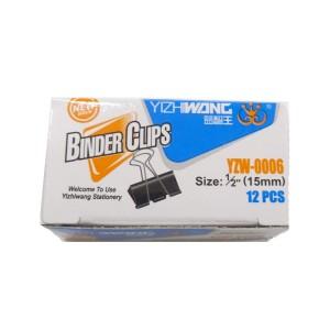 Binder metalic 15MM 12/cutie 40701100