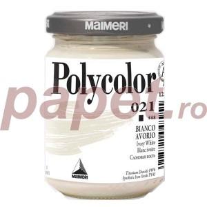 Culoare acrilica Maimeri polycolor 140 ml ivory white 1220021