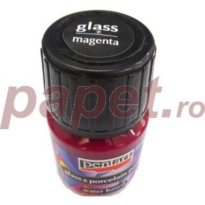 Culori sticla/portelan sau ceramica 30ML Magenta P21338