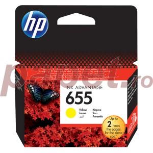 Cartus HP Deskjet yellow nr.655 CZ112AE ORIGINAL 3525 E-AIO CZ112AE