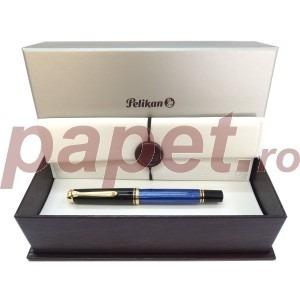 Stilou Pelikan souveran m600 F penita din aur de 14k 988162
