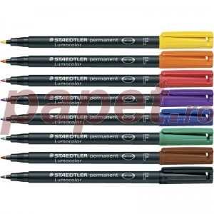 Marker permanent Staedtler Lumocolor S ST-313-9