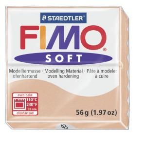 Lut polimeric Fimo Soft pentru modelaj 8020-Light flesh