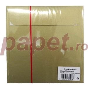 Plic Daco silicon auriu 14 x 14 cm / bucata PC1414AU