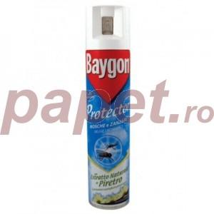Baygon Protector Spray impotriva mustelor si tantarilor B3698