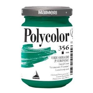 Culoare acrilica Maimeri polycolor 140 ml emerald green 1220356