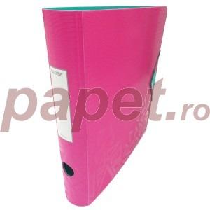 Biblioraft Leitz 65MM roz/verde inchis L11170022