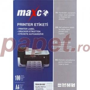 Etichete autoadezive CD 2/A4 MAXCO E8550CD