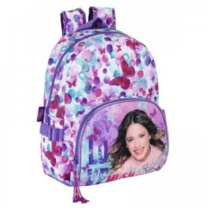 Ghiozdan scoala Violetta Butterflies 28cm 611447609