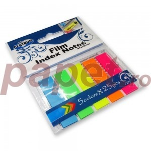 Notes Adeziv 45x12mm 5culx25 file neon E80408