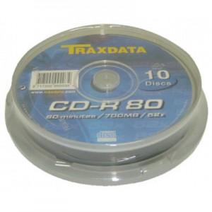 CD-R Traxdata 52X 10/box E656