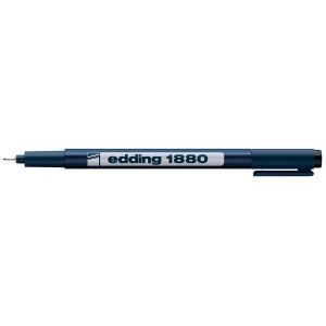 Fineliner Edding 1880 0.5MM negru ED188001
