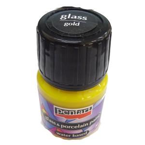 Culori sticla/portelan sau ceramica 30ML Gold P21348