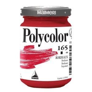 Culoare acrilica Maimeri polycolor 140 ml bordeaux 1220165
