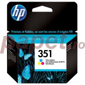 Cartus color vivera HP nr.351 CB337EE 3,5ML ORIGINAL OFFICEJET J5780