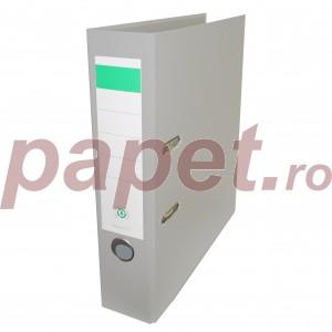 Biblioraft plastifiat Papet 8cm gri E5640111