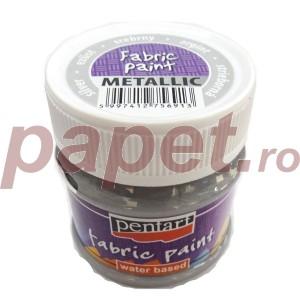 Culori metalizate pt.textile 50ML Argintiu P6264