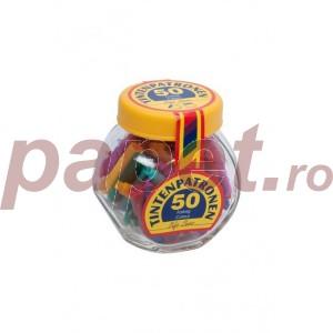 Patroane cerneala color Viva 50buc/borcan P1348