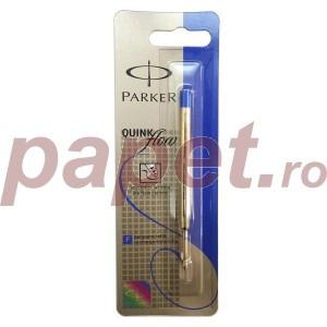 Rezerva pix Parker quink flow albastra / neagra S0909530