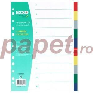 Separatoare plastic Exxo 2 x 5 culori 186166031