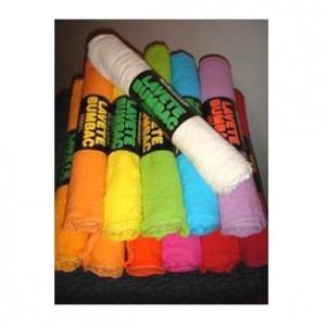 Lavete bumbac hidrofilizate colorate 6 bucati / set 1041