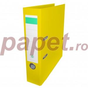 Biblioraft plastifiat Papet 8cm galben E564015