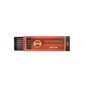 Set creta Gioconda Koh-I-Noor sepia maron inchis K4378