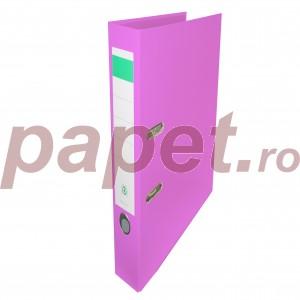 Biblioraft plastifiat Papet 5cm roz E564022