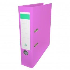 Biblioraft plastifiat Papet 8cm roz E564016