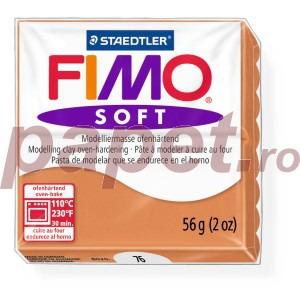 Lut polimeric Fimo Soft pentru modelaj 8020-Cognac