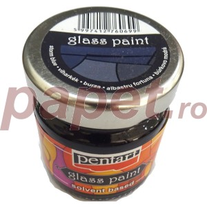 Culori sticla sau vitraliu 30ML Storm Blue P25119