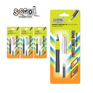 Stilou plastic Centrum fountain pen SC189