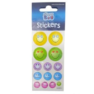 Sticker Emoji 6.6x18cm Starpak R17414