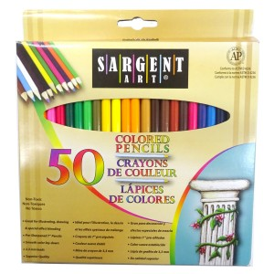 Creioane colorate Sargent Art 50buc/set 22-7251