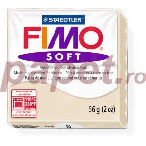 Lut polimeric Fimo Soft pentru modelaj 8020-Sahara
