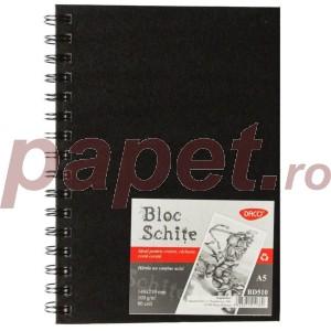 Bloc A5 schite Daco 100G 80file BD510
