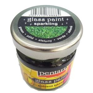 Culori sticla sau vitraliu 30ML Sparkling Green P26526