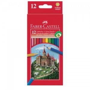 Creioane color Faber Castell 12 culori / set 4388