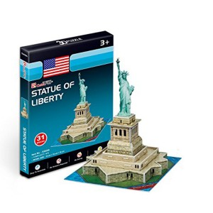 Puzzle 3D Statue of Liberty 31 piese Roben R16795