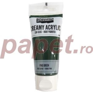 Acrylic color creamy semi-gloss 60ML Pine Green P27957