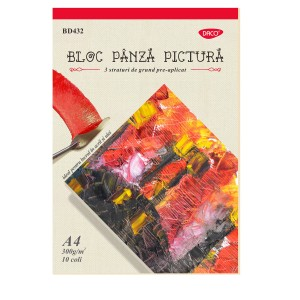Bloc A4 panza pictura Daco 300G 10coli BD432
