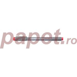 Pigment Liner 03mm Staedtler rosu ST-308-03-02